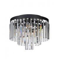 Markslöjd Ventimiglia lampa podsufitowa 4x40W czarny/mc 106563