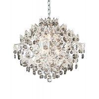 Markslöjd Hidden Gem lampa wisząca 6x40W chrom/przezroczysty/przydymiony 107415