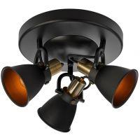 Markslöjd Alton lampa podsufitowa 3x40W czarna 107854