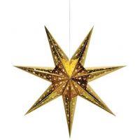 Markslöjd Nanna dekoracja wisząca 1x25W złota 703614