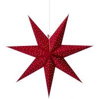 Markslöjd Clala dekoracja wisząca 1x6W czerwona 704902