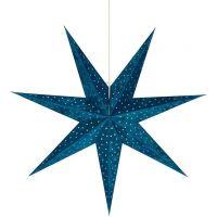 Markslöjd Velours dekoracja wisząca 1x6W niebieska 705487