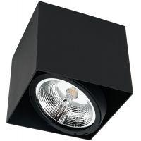 Milagro Plaza lampa podsufitowa 1x12W czarna ML4744