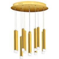 Milagro Goldie lampa wisząca 12x1W złota ML5716