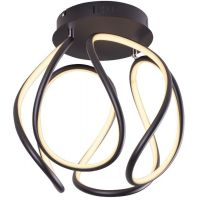 MaxLight Twist lampa podsufitowa 1x40W czarna C0147