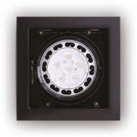 MaxLight Matrix oprawa halogenowa 1x50W czarna H0048