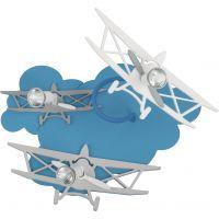 Nowodvorski Lighting Plane kinkiet 3x35W niebieski/biały 6904