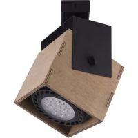 Nowodvorski Lighting Wezen I lampa podsufitowa 1x35W drewno/czarny 9037