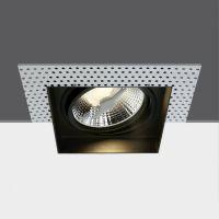 One Light Limani lampa do zabudowy 1x75W czarna 51110ATR/B