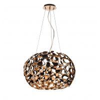 Orlicki Design Carera Gold lampa wisząca 6x7W złota