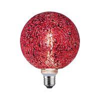 Paulmann Mosaic żarówka LED 1x5W E27 czerwony 28748