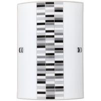 Rabalux Domino kinkiet 1x60W szkło opalizowane 3931