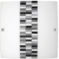 Rabalux Domino kinkiet 1x60W szkło opalizowane 3932