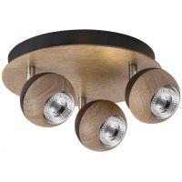 Rabalux Arthur lampa podsufitowa 3x35W dąb 5615