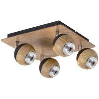 Rabalux Arthur lampa podsufitowa 4x35W dąb 5616