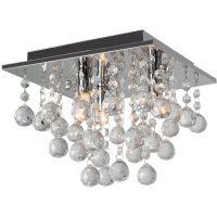 TooLight Glamour lampa podsufitowa APP404-C chrom OSW-00551