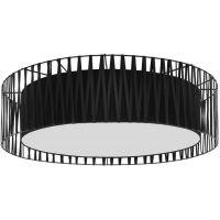 TK Lighting Harmony Black plafon 4x15W czarny 1658