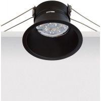 Zambelis Lighting lampa do zabudowy 1x50W czarna S007