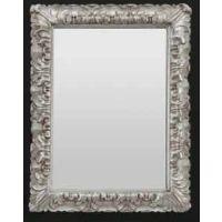 Art Ceram Italiana lustro 70x90 cm prostokątne antyczne srebro ACS00251