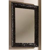 Kerasan Retro lustro 70x100 cm z ramą czarną 736501