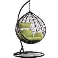 Eurohit Amber fotel wiszący ogrodowy czarno-zielony