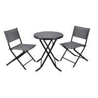Vimar Capri zestaw mebli ogrodowych 3-częściowy stolik i dwa fotele