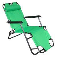 Vimar Relax leżak ogrodowy 2-pozycyjny Lime Green