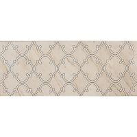 Tubądzin Larda dekoracja ścienna White 29,8x74,8cm tubLarDekWhi