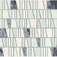 Tubądzin Mozaiki 2016 mozaika ścienna Drops Stone White 30x30cm MS-01-172-0300-0300-1-001