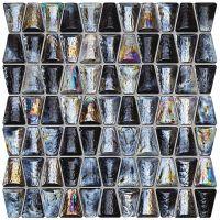 Tubądzin Drops mozaika ścienna glass grey 30,4x30,6