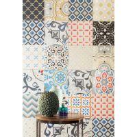 Tubądzin Unit Plus dekor ścienny Patch White 22,3x22,3cm