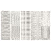 Tubądzin Brave płytka ścienna platinum STR 14,8x44,8 cm
