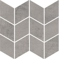 Paradyż Space mozaika Cięta Grafit Romb Braid Mat 20,5 x 23,8 cm