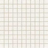 Tubądzin Timbre mozaika ścienna White Mat 29,8x29,8 cm