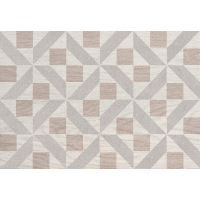 Domino Inverno modern dekor ścienny 25x36 cm szary mat/połysk
