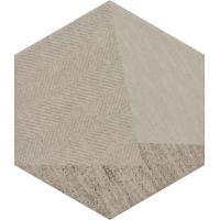 Paradyż Esagon dekor ścienny 17,1x19,8 cm linum motyw C beż
