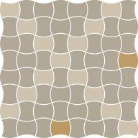 Paradyż Modernizm mozaika ścienno-podłogowa 30,9x30,9 cm prasowana mix D