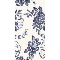 Paradyż Porcelano dekor ścienny 30x60 cm niebieski/biały