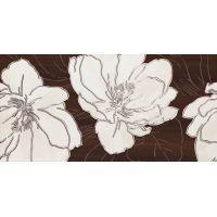 Tubądzin Ashen 3 dekor ścienny 29,8x59,8 cm brązowy połysk
