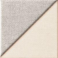 Tubądzin Chenille dekor ścienny 14,8x14,8 cm STR beżowy