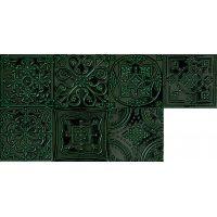 Tubądzin Tinta dekor ścienny 14,8x14,8 cm STR zielony