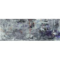 Tubądzin Grunge A dekor ścienny 32,8x89,8 cm mix niebieski połysk