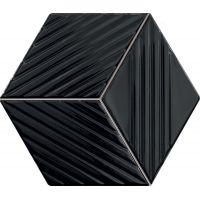 Tubądzin Colour mozaika ścienna 19,8x22,6 cm czarna MS-01-217-0198-0226-1-054