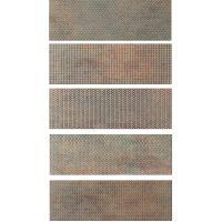 Tubądzin Brave płytka ścienna 14,8x44,8 cm STR brązowy mat/połysk