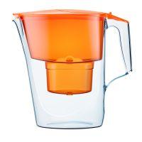 Aquaphor Time dzbanek filtrujący z wkładem B25 Maxfor pomarańczowy