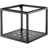 Deante Temisto konsola 50x50 cm wisząca podumywalkowa czarny mat CSWX50A