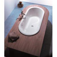 Hoesch Philippe Starck Edition 2 wanna owalna 175x80 cm do zabudowy biała 6135.010