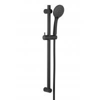 KFA Armatura Moza Black zestaw prysznicowy ścienny czarny 841-365-81