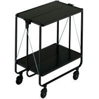 Leifheit wózek wielofunkcyjny na kółkach czarny 74237