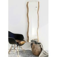 Smartwoods Shape of Nature Tablera lustro wiszące 155/40x50 cm lite drewno dębowe